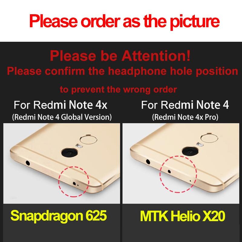 Xiaomi Redmi Note 4x fodral MOFi redmi Note4x film skal silikon Xiomi - Reservdelar och tillbehör för mobiltelefoner - Foto 5