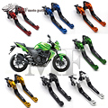 8 Colors For Kawasaki Z750 (not Z750S)/Z800/E version Motorcycle Adjustable Levers Folding&Extending Levers Brake Clutch Levers