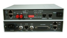 HighTek HT-014 PDH optical fiber switch cat E1 + 4 Ethernet ports + V35 PDH to VE potocol converter