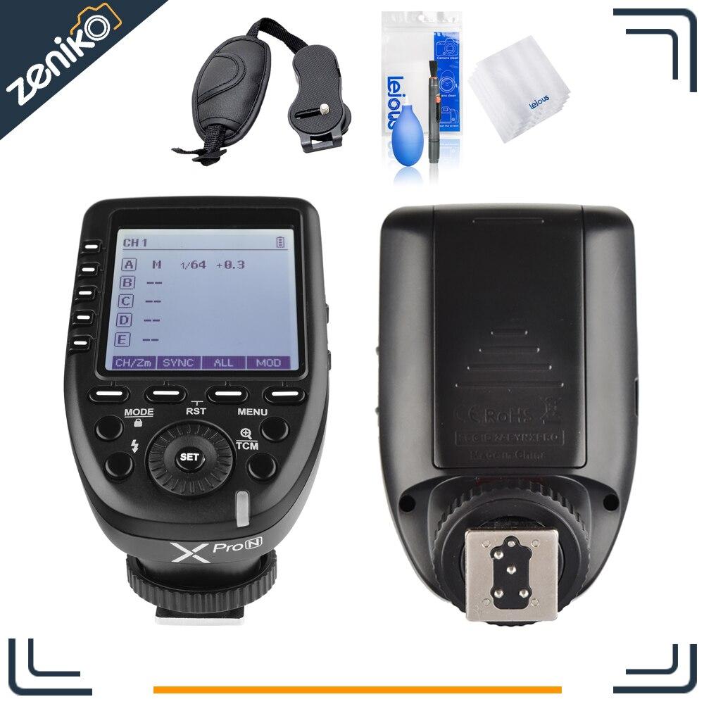 Здесь продается  In Stock Godox Xpro-N i-TTL II 2.4G Wireless Trigger High Speed Sync 1/8000s X System with LCD Screen Transmitter for Nikon DSLR  Бытовая электроника