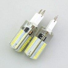 Foxanon Led Light G9 G4 Led Bulb E11 E12 14 E17 G8 Dimmable Lamps 110V 220V Spotlight Bulbs 3014 SMD 64 152 Leds Sillcone Body