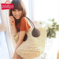 BVLRIGA Summer style beach bag Straw bags bulk trendy big size handbags handwoven shoulder bag designer handbags high quality