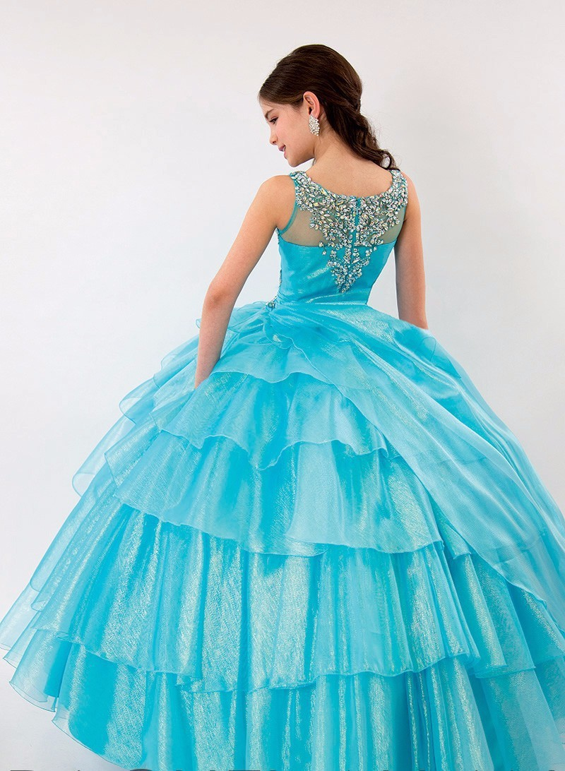 Latest Ball Gown Beauty Junior Pageant Dresses for Little Girls Prom ...