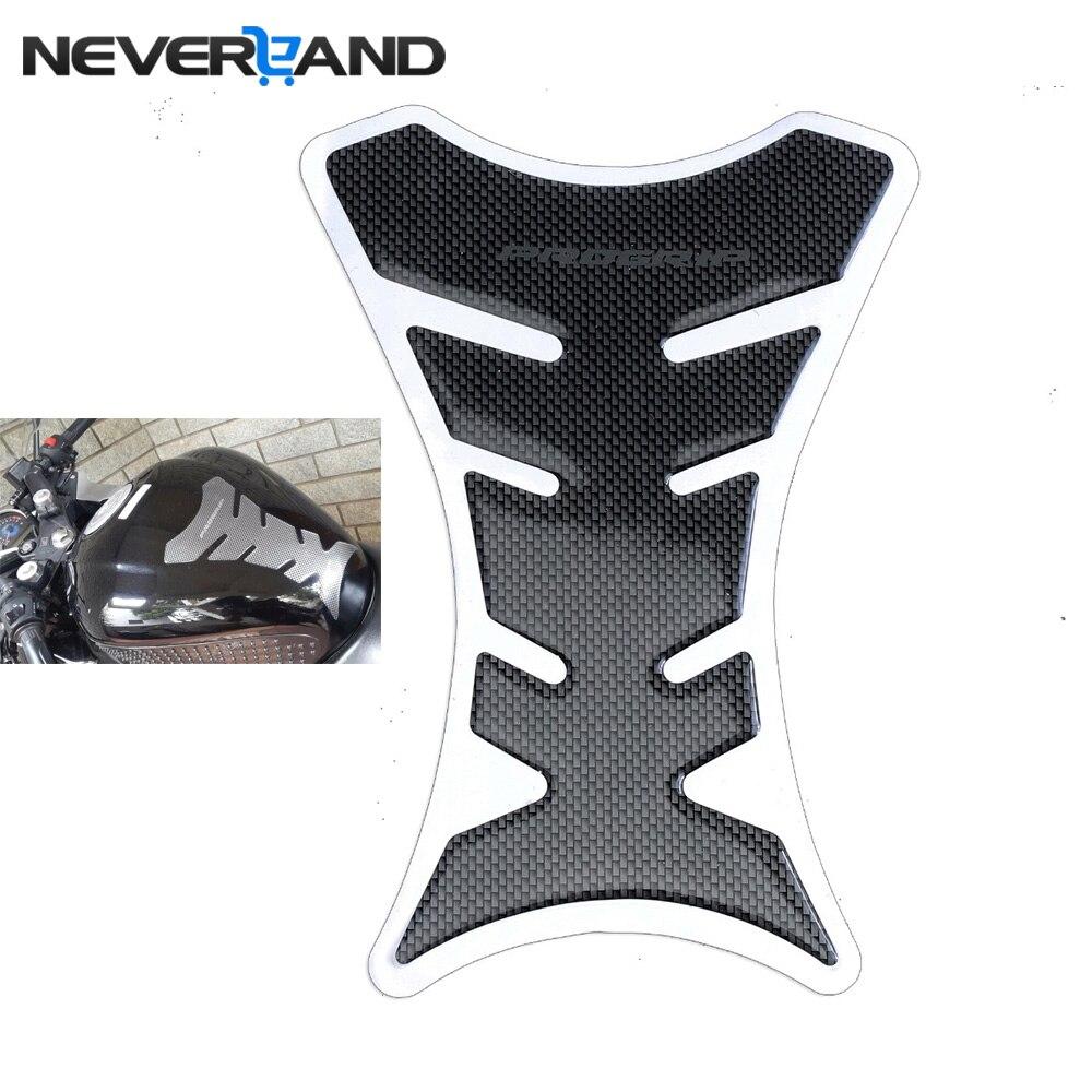 Universal Carbon Fiber Tank Pad Tankpad Protector Sticker For Motorcycle Universal Fishbone Motocross Racing Tankpad Case