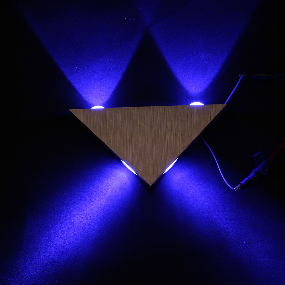bedroom mood lighting. 4w led triangle wall light sconce spot metal mood lamp bedroom hotel decorationin lamps from lights u0026 lighting on aliexpresscom alibaba group