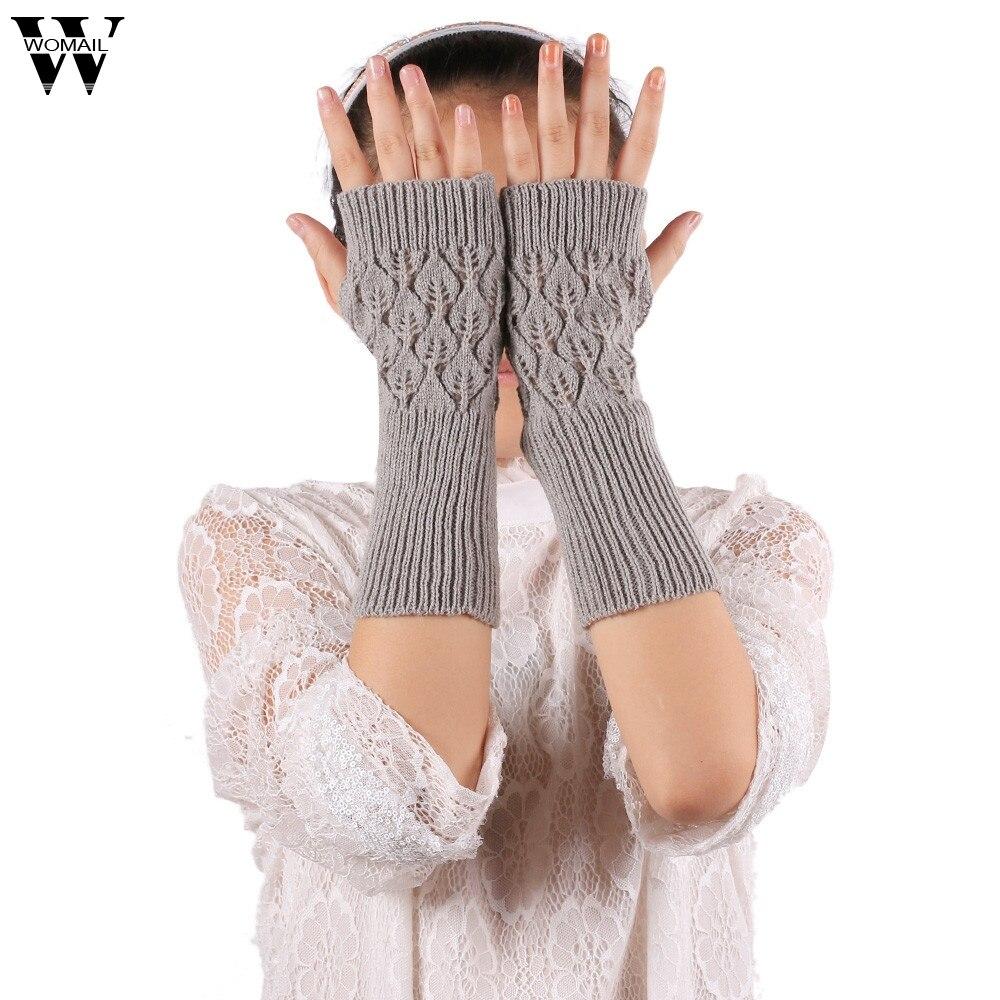 Armstulpen Womail Handgelenk Strickhandschuh Fingerlose Handschuhe Winter Großhandel Dropshipping Dec7 Dauerhafte Modellierung