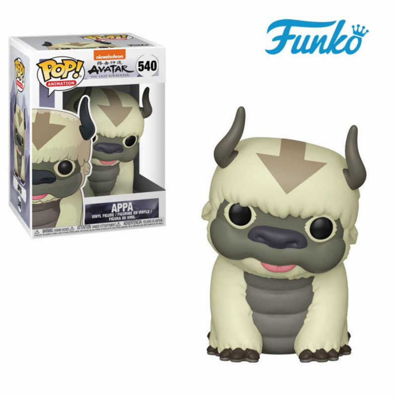 Funko Pop Avatar: The Last Airbender #540 Appa Vinyl Doll Action Figures Toys Collection Model Gift for Children Friend Birthday