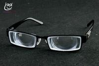 Limitu!! Clara Vida Standardowy czarny mężczyźni męski goc wysokiej myodisc krótkowzroczny soczewki krótkowzroczność okulary z 1.56 indeks-PD64 15D
