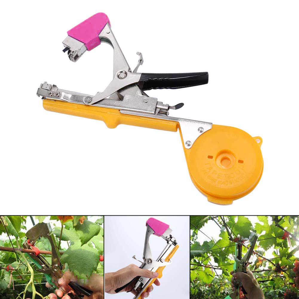 Nouvelle vigne branche attachant bande cravate agrafeuse main outil plante Fruit légume pépinière Prune NE
