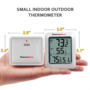 Image 3 - ThermoPro TP60S 60M Draadloze Digitale Kamer Thermometer Indoor Outdoor Thermometer Vochtigheid Monitor Weerstation