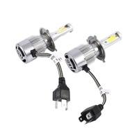 5 шт. 110 Вт 3800LM светодиодный свет фар комплект автомобиля высокий низкий пучок лампа комплект 6000 К Туман лампа