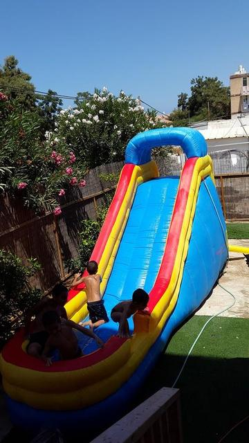 inflatable pool slides commercial pvc inflatable water slide with a funny pool - Inflatable Pool Slide