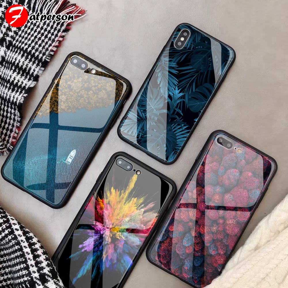Tempered Glass Custom Phone Cover For Iphone 12 Mini X R 11 Pro Max Wallpaper Gorgeous Diy Phone Case For Iphone 7 8 6 S Plus Fitted Cases Aliexpress