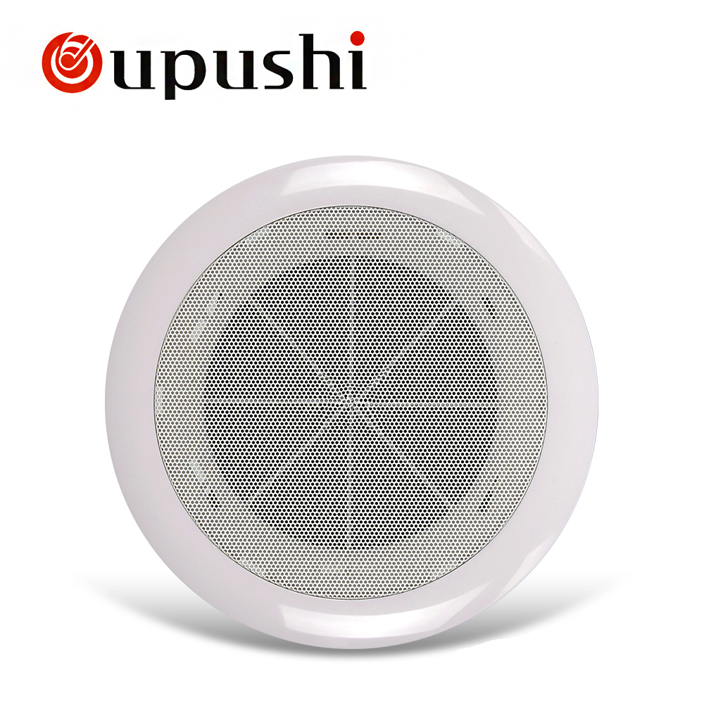 Us 22 0 Oupushi 4 5 Inch Pa Ceiling Speaker 10w Full Range Church Wall Ceiling Loudspeaker For Sales In In Ceiling Speakers From Consumer