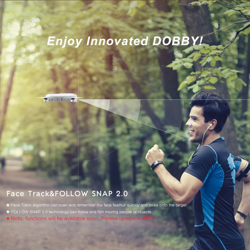 ZEROTECH Dobby Drone Selfie Pocket Smart RC Helicopter FPV With HD Camera Quadcopter Dobby Drone VS DJI Spark / dji mavic pro