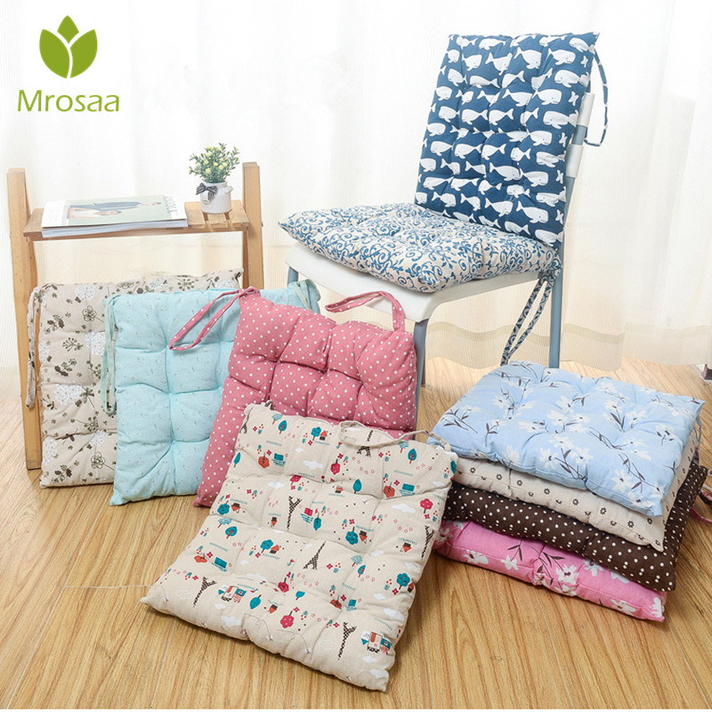 Free Shipping 40 40cm Chair Pad Cushion Pearl Cotton: Mrosaa 40 X 40cm Soft Thicken Cushion Buttocks Chair