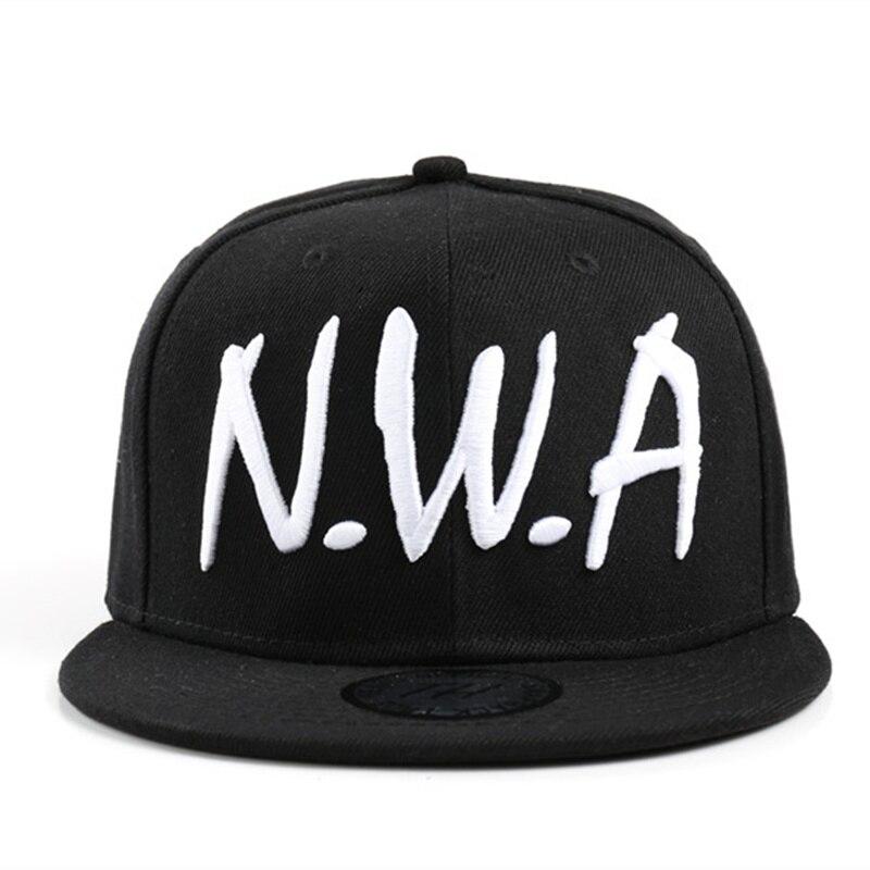 Новинка 2017 года Compton для мужчин и женщин Snapback Спорт Бейсбол кепки Винтаж Черный NWA письмо гангста хип-хоп шляпа