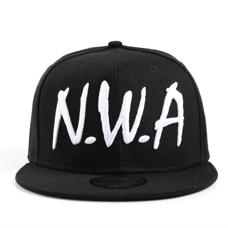 2017 new Compton men&women Snapback sport   Baseball     Cap   Vintage Black NWA letter Gangsta Hip-hop hat