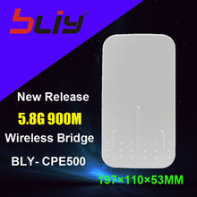 free shipping 5.8 Ghz 5Km Outdoor Long Range Wireless Cpe, 5Ghz Home Point To Point Wireless Outdoor Wifi Lte Router Cpe Bridge