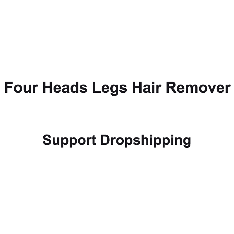 Quattro Teste Ricaricabile Rasoio delle donne dispositivo di rimozione Dei Capelli Del Corpo di Supporto Dropshipping Piccolo Aria Condizionata Elettrodomestici Ventole