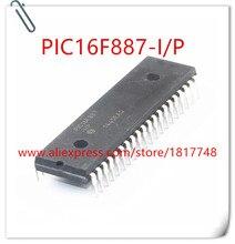 10pcs/lot  PIC16F887A-I/P PIC16F887-I/P PIC16F887 IC MCU 8BIT 14KB FLASH 40DIP In Stock