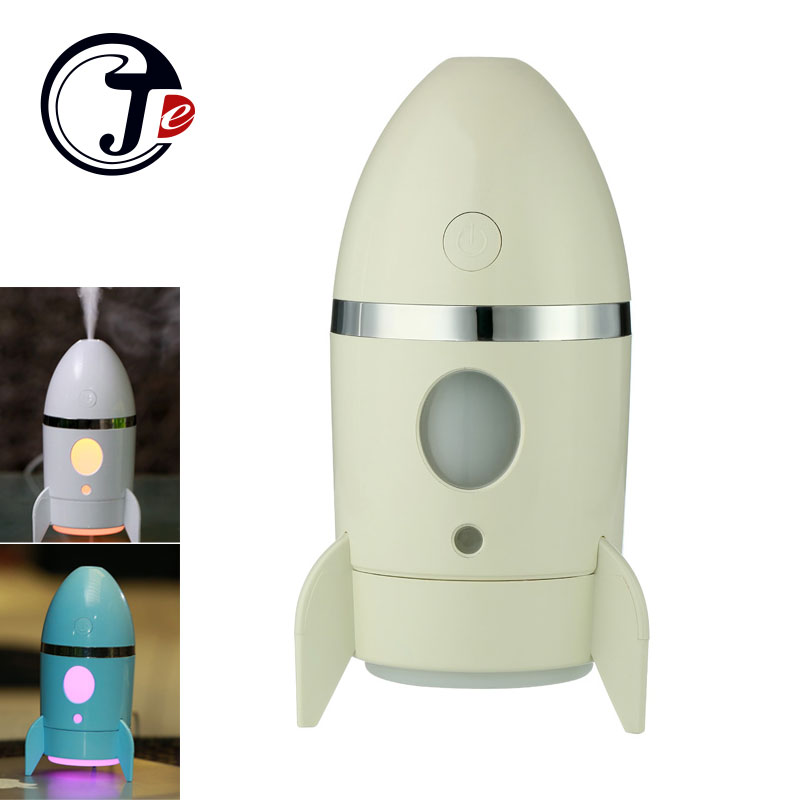 135ml Rocket Air Humidifier Ultrasonic Essential Oils for Aromatherapy Diffusers Timer Water Fogger Mist Maker with Aroma Lamp ultrasonic humidifier aroma air diffuser with led lights electric essential oils for aromatherapy diffusers fogger