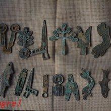 Редкие старые монеты бронзовые древние тампоны различные спецификации 21 полный набор Янь страны(25-126) валюта, 21 шт./упак