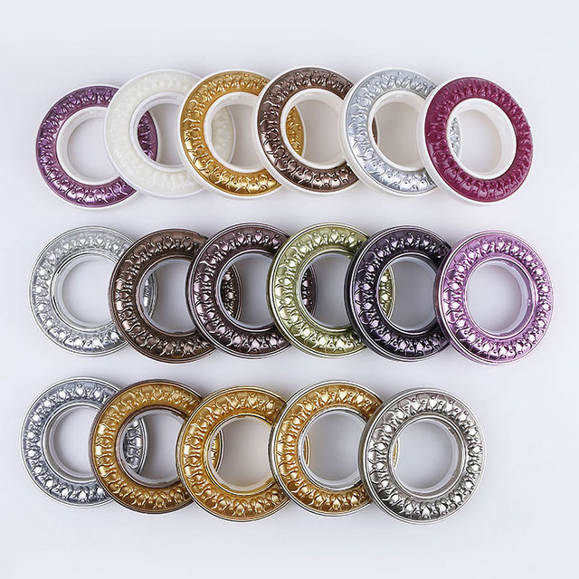 5 Sets Wholesale Curtain Tie Rings Plastic Curtain Rods Ring ...