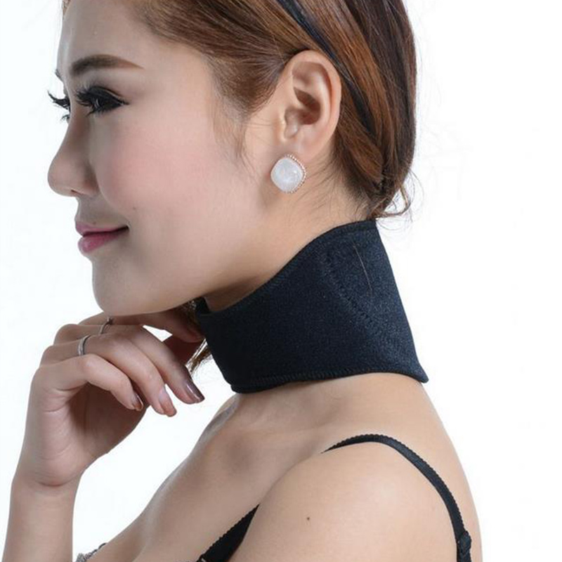 2016 Tourmaline Neck Belt Guard Self-heating Brace Magnetic Therapy Wrap Protection Neck Braces цена и фото