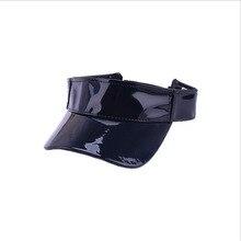 2019 New Top empty hat silver gold Men Women Outdoor Sport Summer Visor Cap Hat for Golf Hiking Tennis running Sunscreen cap