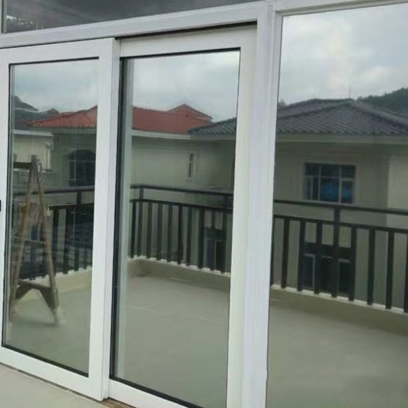 Two side Silver Mirror Window Film Insulation Solar Tint Stickers UV Reflective One Way Privacy Decoration