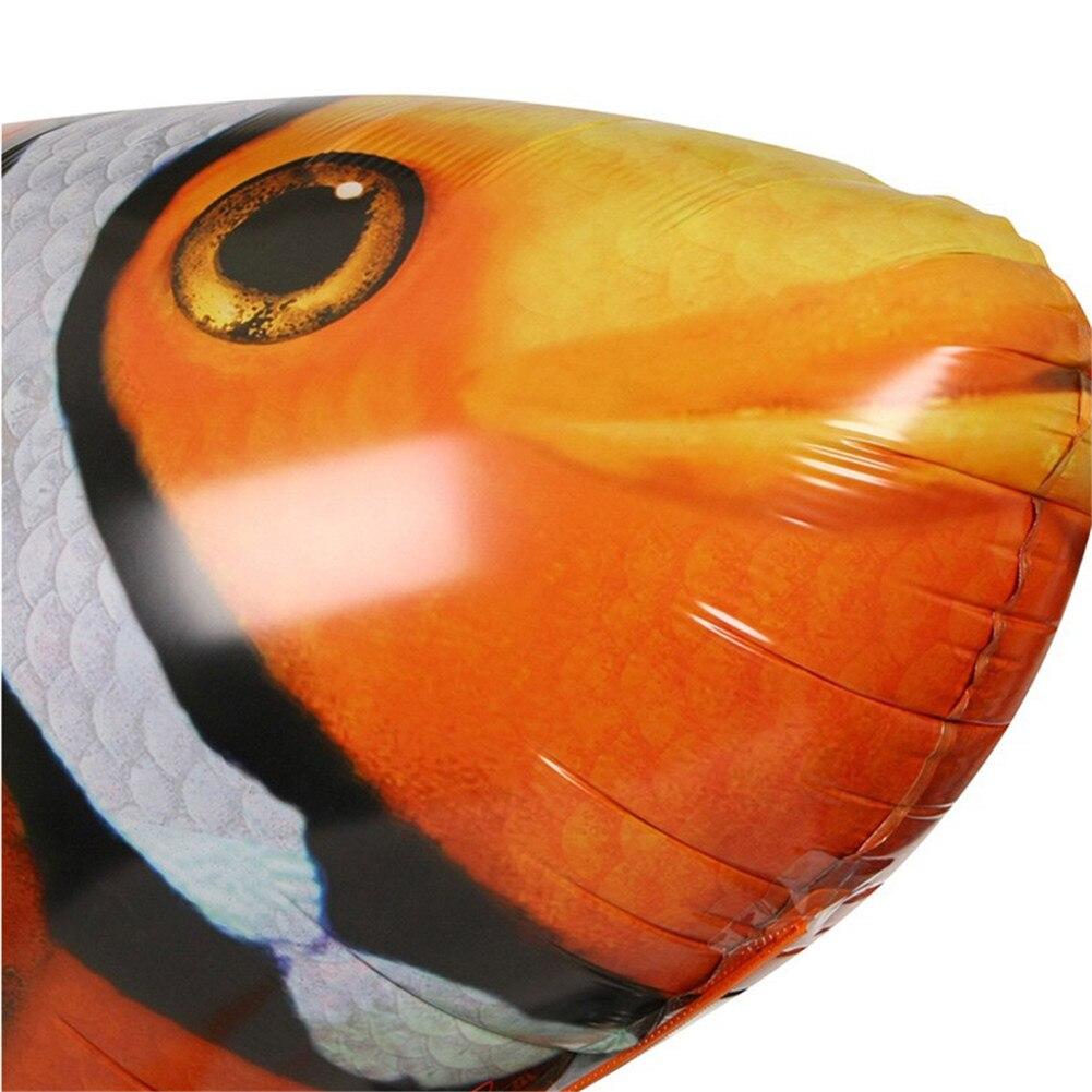 palhaço balões de peixe inflável hélio avião