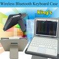 Горячие съемный Bluetooth клавиатура чехол для lenovo A1000 A3000 A3300 A3500 S5000 планшет крышка чехол + стилус + телефон владельца