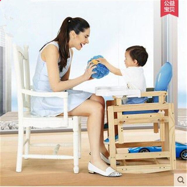 Стульчик Для Кормления ребенка сплит двойного назначения высокие стулья/многофункциональный ребенок обеденный стул/BB ужин стул