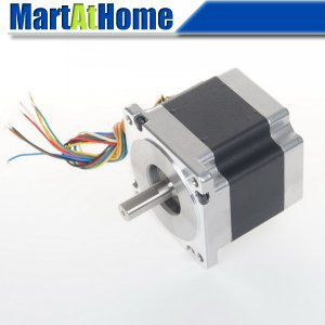 Leadshine 86HS45 2-phase CNC Hybrid Stepper Motor NEMA 34 637.2 Oz-in 8-leads for CNC Router, Milling Machine, Laser #SM364 @SD free shipping leadshine m415b cnc router analog hybrid stepper drives 40v 1 5a for 2 phase 4 phase motor sm023 cf