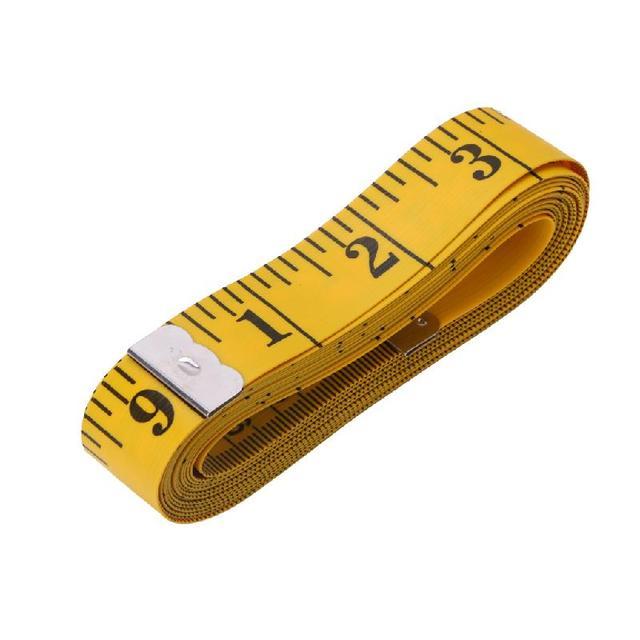 Portable corps r gle de mesure de couture sur mesure ruban mesurer souple plat 150 cm dans - Regle pour mesurer ...