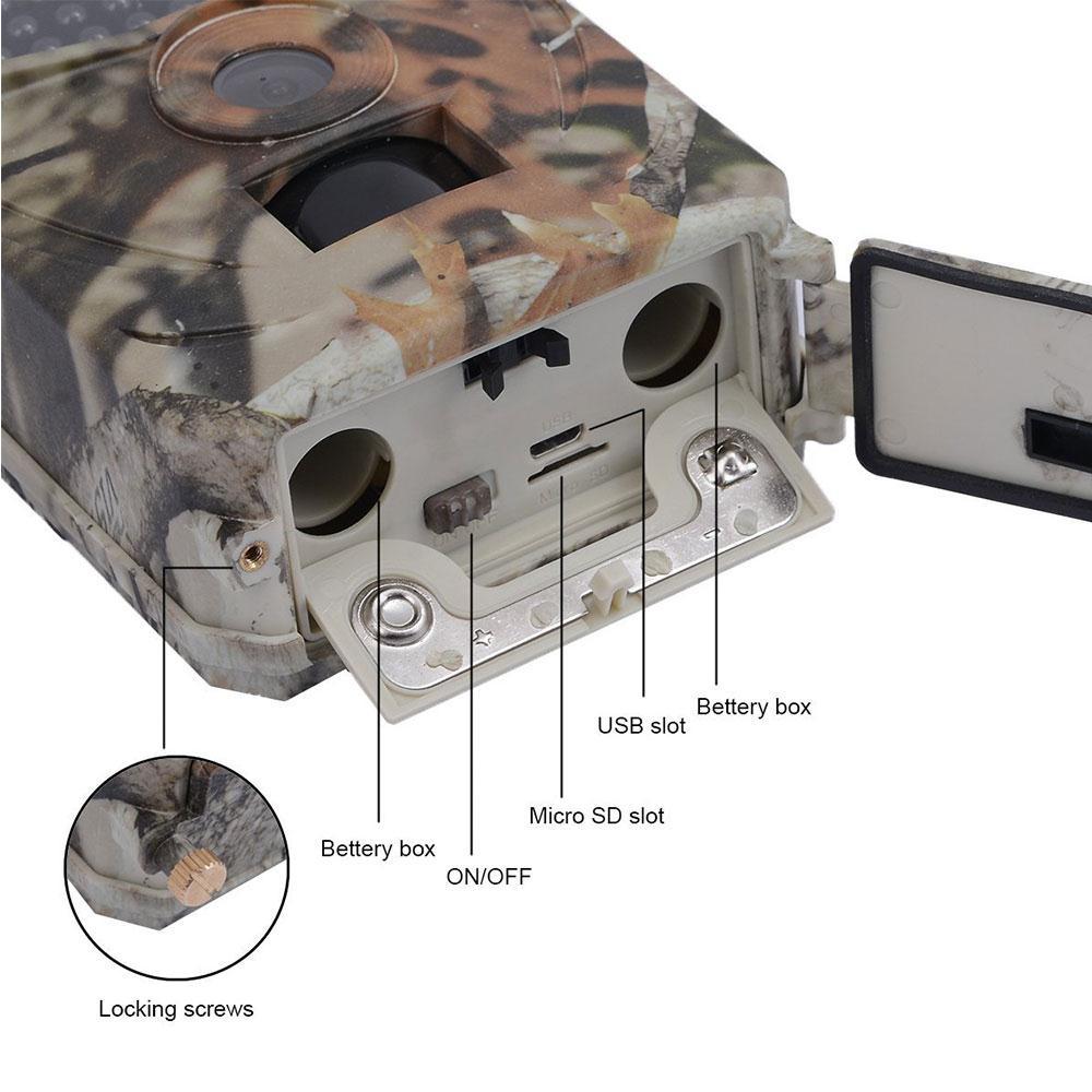 3.0MP caméra extérieure piste caméra étreinte caméra IR chasse caméra 1080 p HD Portable