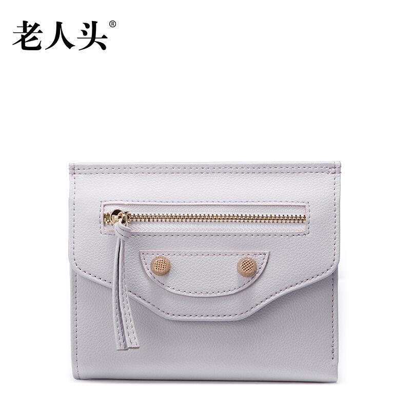 ФОТО 2017 New LAORENTOU brand women leather bag high quality cowhide fashion streak purse women clutch bag coin purse