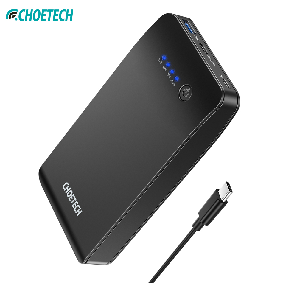CHOETECH 20000mAh Power Bank for Xiaomi huawei QC3.0 USB 18W Mobile Phone Portable Charging Charger for iPhone XS max x 8 plusCHOETECH 20000mAh Power Bank for Xiaomi huawei QC3.0 USB 18W Mobile Phone Portable Charging Charger for iPhone XS max x 8 plus