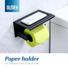 OLMEY Toilet Paper Holder Shelf SUS 304 Stainless Steel Bathroom font b Accessories b font Tissue