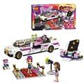 Bela 10405 friends series Pop Star's Luxury car 265pcs building blocks bricks toys children gift lepin compatible