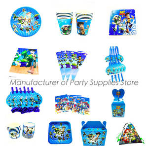 disposable plates cups napkins themed party decorations Toy