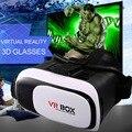 Горячая Универсальный Google Картон VR 2 Виртуальной Реальности 3D очки Игра Фильм 3D Стекло Для iPhone Android Мобильного Телефона кино