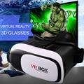 Caliente universal google caja de cartón vr 2 realidad virtual 3d movie game gafas de cristal 3d para iphone android teléfono móvil cine