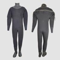 YONSUB по индивидуальному заказу 8 мм теплые Wndproof Подводное сухой Дайвинг костюм высокая плотность неопреновый сухой костюм с сапоги каяк пару