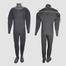YONSUB custom-made 8mm Warm Waterproof Scuba Diving drySuit Hight Density Neoprene Dry Suit with Boots Kayak Sailing Back Zipper
