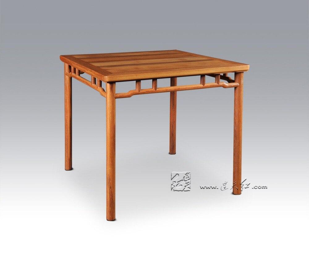 Eetkamer Massief Hout : Palissander vierkante tafel chinese klassieke antiek bureau kopen