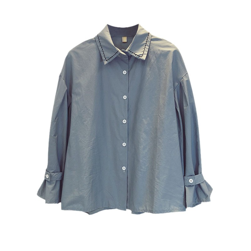 Autumn Spring Blouses Shirts Women Slim Casual Shirts Ladies Loose Blouses in Blouses amp Shirts from Women 39 s Clothing