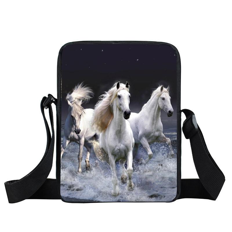 Girls Horse Messenger Bag Women Clutches Bao Bao Animal Casual Small Crossbody Shoulder Bag Leisure Travel Mini Bag bolso hombre паяльник bao workers in taiwan pd 372 25mm