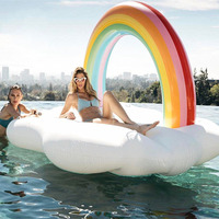 Inflatable Swimming Ring Giant Pool Float Mattress Swimming Circle Adult Beach Summer Water Party inflatable Toy